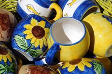 Traditionelle Keramiktassen Au...