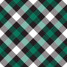 Christmas Plaid Seamless Pattern. Vector Background