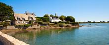 Village De Saint Cado En Bretagne