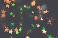 Symbols Of Stars In Darkness
