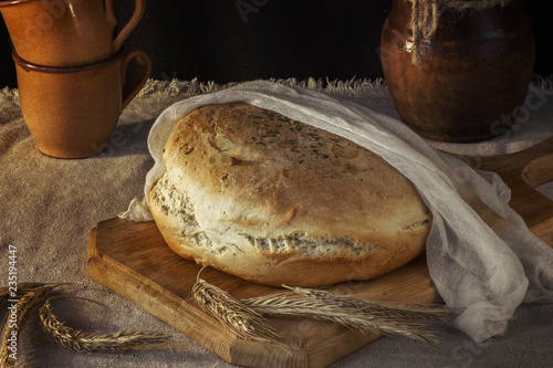 Freshly Baked Tasty Bread