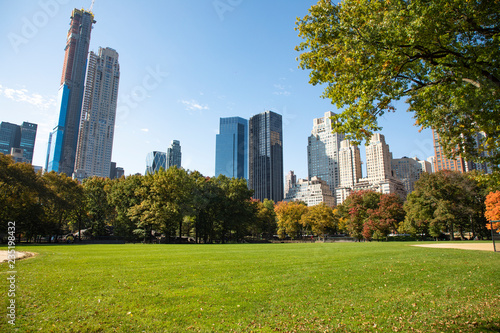 Deurstickers New York City Central Park