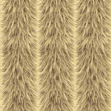 Seamless Of Beige Vector Furry...