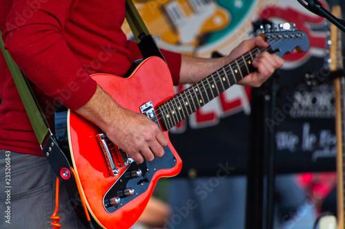 man playing guitar - 235206843