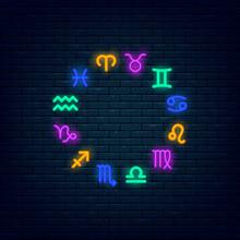 Zodiac Symbols Icon Set