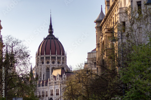 Fotografia, Obraz  Dome of the Hungarian Parliament Building