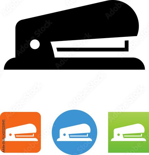 Fotografie, Obraz  Vector Stapler Office Supply Icon