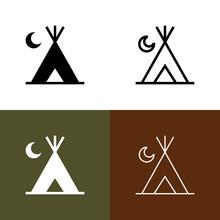 Campground Icon Set