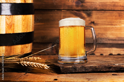 Tuinposter Bier / Cider Still life with beer