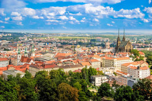 Landscape Of Brno From The Hil...