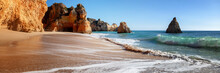 Algarve Beach, Panoramic Banne...