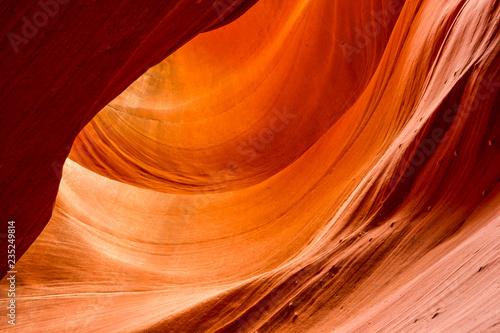 Poster Brick Antelope slot canyon
