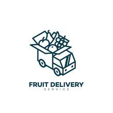Fruit Delivery Service Logo