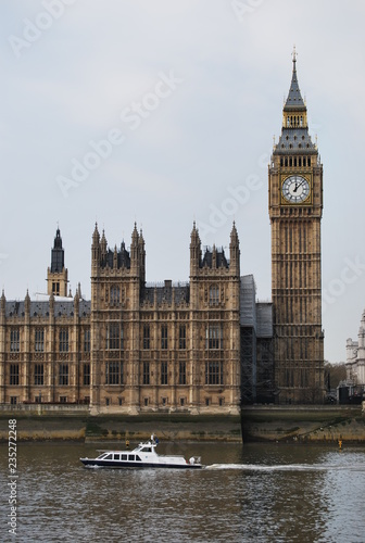 Palace of Westminster, Big Ben Tower, London, England Canvas Print