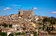 Toledo skyline in Castile La Mancha Spain