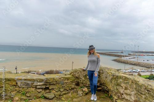 Fotografía  Woman in Tarifa