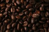 Fototapeta Kuchnia - Roasted coffee seeds