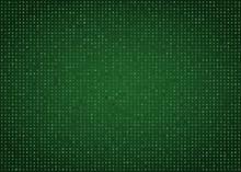 Green Computer Code Vector Background