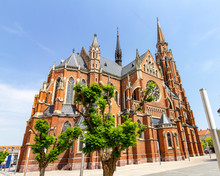 Church Of Saint Peter And Paul In Osijek, Croatia