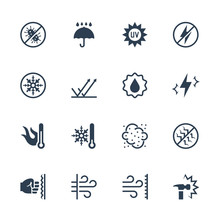 Vector Icons Set Of External I...
