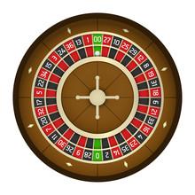 American Casino Roulette Wheel