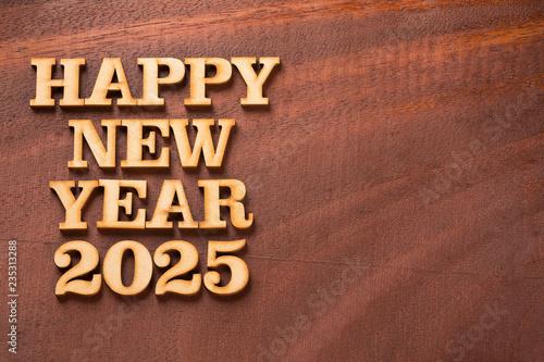 Fotografia  Happy new year 2025 - Text space