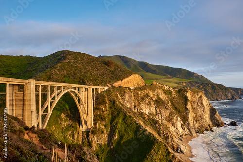Foto op Aluminium Verenigde Staten Bixby Creek Bridge on Highway 1, California