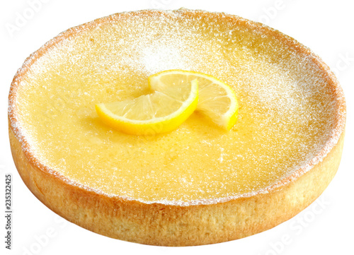 Photo  TARTE AU CITRON OR FRENCH LEMON TART