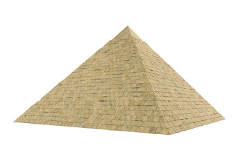 Egyptian Pyramid Isolated