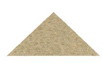Egyptian Pyramid Isolated