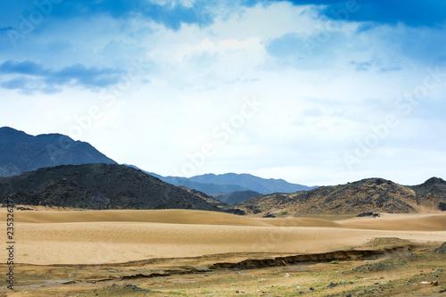 Saudi Arabian desert landscape