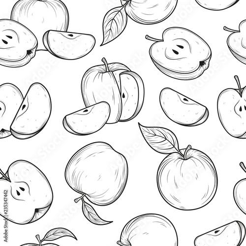 wzor-z-jablkami