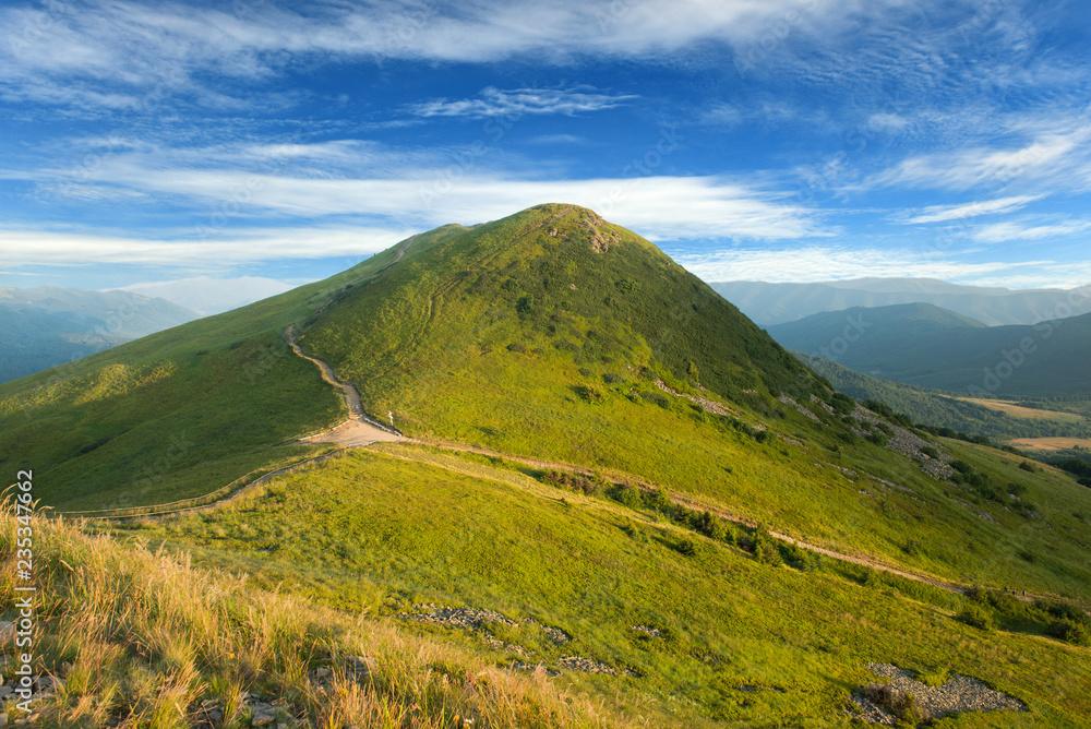 Fototapety, obrazy: Bieszczady mountains - Poland, Tarnica hill