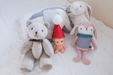 Cute Dolls In Baby Nursery