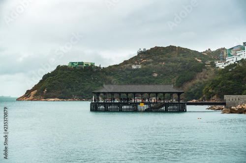 Photographie  Stanley Blake Pier is one the most popular landmark of Stanley, a coastal town i