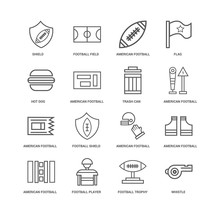 16 Linear Icons Related To Fla...