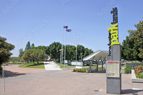Foto op Plexiglas Oceanië Broadwater Parklands Southport Gold Coast Queensland Australia