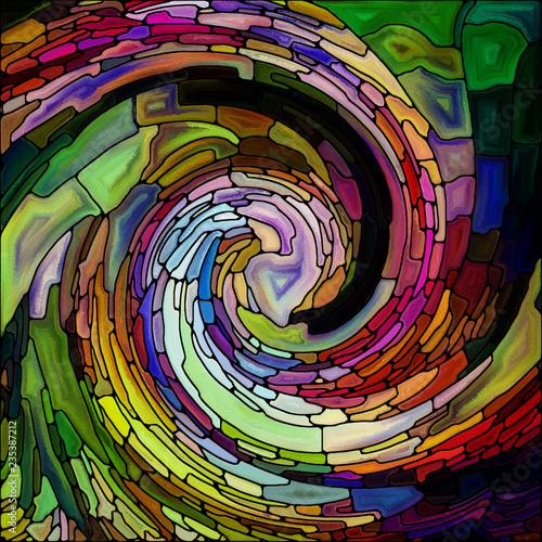 Vision of Spiral Color