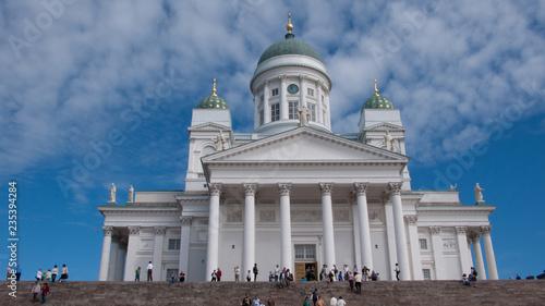 Helsinki Cathedral in Helsinki, Finland