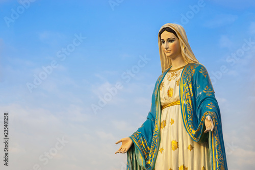 Fototapeta Virgin mary statue