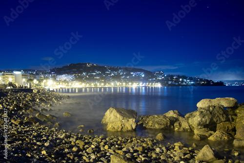 Photo sur Toile Gris traffic Le Golfe Juan vu de Cannes