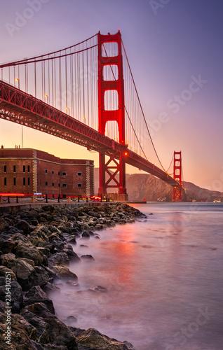 Valokuvatapetti Golden Gate Bridge