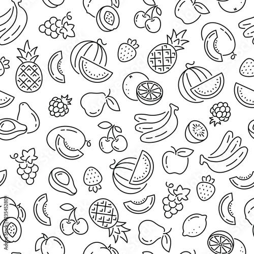 czarno-biale-ikony-przedstawiajace-owoce