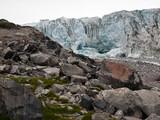 Ice meets rock - Russell Gletscher in Westgrönland, Küste, Westküste, Grönland