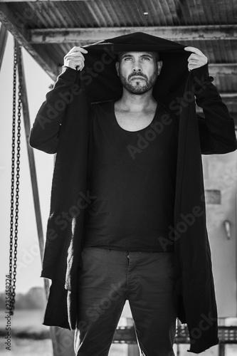 Fotomural mode homme