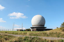 The Famous Radar Dome On The Wasserkuppe Mountain