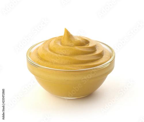Fotografie, Obraz mustard sauce in the bowl