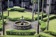 Gardens In Courtyards Of San A...