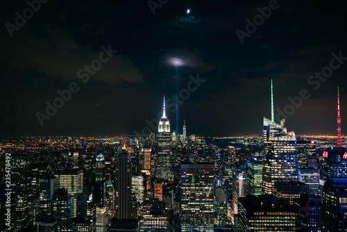 New York leuchtet bei Nacht 3