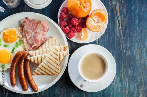 Fototapeta Fresh english breakfast obraz
